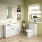 Essential Alaska 550mm Deluxe Vanity Basin - 2 Doors