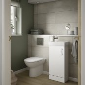 Essential Alaska 400mm Cloakroom Basin and Unit