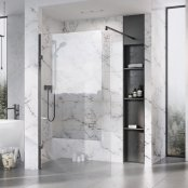 Roman Liberty 10mm 757mm Clear Glass Wetroom Corner Panel