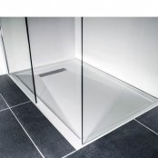 TrayMate 900 x 800mm Linear Ultra Rectangular Shower Tray