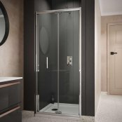 Sommer 6 Bi-Fold Door Shower Enclosure 800mm