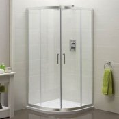 Sommer 6 Double Door Quadrant Shower Enclosure 900 x 900mm
