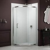 Sommer 8 Single Door Quadrant Shower Enclosure 900x 900mm