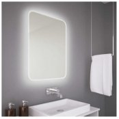 The White Space Hey U Illuminated LED Bathroom Mirror - 600mm X 800mm