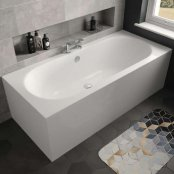 The White Space Magnus Double Ended Rectangular Bath - 1800mm X 800mm