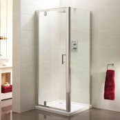 Sommer 6 Pivot Door Shower Enclosure 760mm