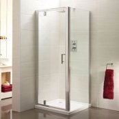 Sommer 6 Pivot Door Shower Enclosure 800mm