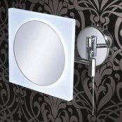 HiB Aries LED Extendable Magnifying Mirror