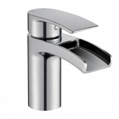 Francis Pegler Cascada Monobloc Basin Mixer Tap - Chrome - waste included