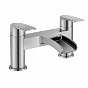Francis Pegler Cascada Bath Filler Tap - Chrome - waste not included