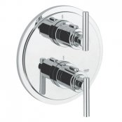 "Grohe Atrio Jota Thermostatic Shower Mixer 1/2"" & Trim"