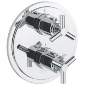 "Grohe Atrio Ypsilon Thermostatic Shower Mixer 1/2"" & Trim"