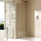 Sommer Evolve 8mm Glass Wetroom Panel 400mm (Chrome)