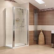 Roman Lumin8 Pivot Door Shower Enclosure