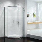 Sommer 8 Double Door Quadrant Shower Enclosure