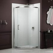 Sommer 8 Single Door Quadrant Shower Enclosure