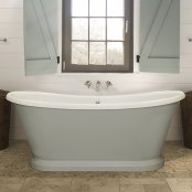 BC Designs Traditional Acrylic Boat Bath 1580mm