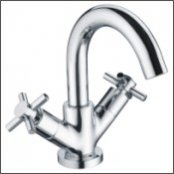 Bristan Decade Basin Mixer with Clicker Waste