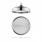 Crosswater Traditional Belgravia 300mm Shower Head