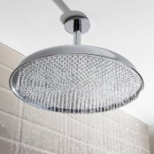 Crosswater Traditional Belgravia Chrome 450mm Shower Head