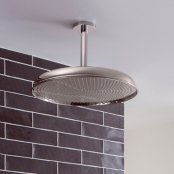Crosswater Traditional Belgravia Nickel 450mm Shower Head