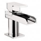 Crosswater Water Square Mini Monobloc Basin Mixer