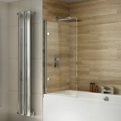 Dilusso .d009 10mm Round Top Bath Screen