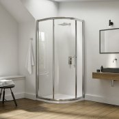 Dilusso .dEIGHT 1 Door 900mm Quadrant (STOCK CLEARANCE)