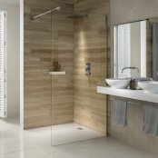 Dilusso d.TEN Wetroom Shower Screen 600mm