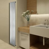 Essential Virgo Chrome 1800 x 309mm Towel Warmer