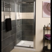 Roman Haven Pivot Door Shower Enclosure