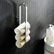 Novellini Wall Mounted Stainless Steel Towel Rail