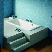 Roca Vythos 1600 x 700mm Bath