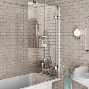 Burlington Single Panel Bath Screen