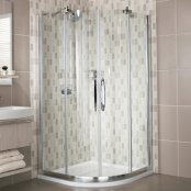 Roman Desire Frameless Luxury Quadrant Enclosure