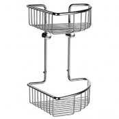 Smedbo Sideline Basic Double Corner Soap Basket