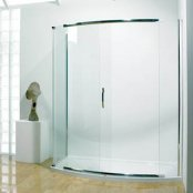 Kudos Infinite 1700mm Bow Fronted Slider Shower Enclosure