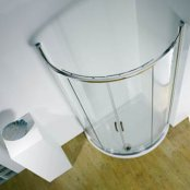 Kudos Infinite 1000 x 810mm Offset Curved Sliding Corner Enclosure