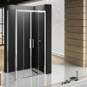 Novellini Kuadra 2A Double Sliding Door Enclosure