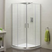 Sommer 6 Double Door Quadrant Shower Enclosure 800 x 800mm