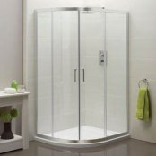 Sommer 6 Double Door Offset Quadrant Shower Enclosure