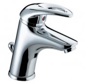 Bristan Java Basin Mixer with Eco-Click & Clicker Waste