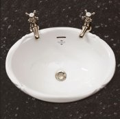 Silverdale Victorian 510mm Inset Basin