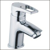 Bristan Smile Basin Mixer With Clicker Waste