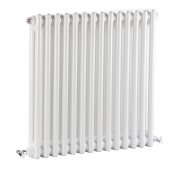 Bayswater Nelson Double 600 x 650mm White Radiator