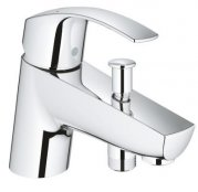 Grohe Eurosmart Single Lever Bath/Shower Mixer with Monobloc Installation