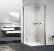 Novellini Young 2GS Corner Entry Bi-Fold Shower Enclosure
