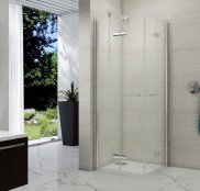 Meryln 8 Series Double Folding Showerwall