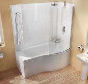 Cleargreen Ecoround 170 Shower Bath