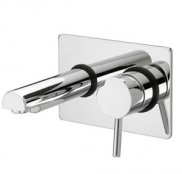 Bristan Prism Single Lever Wall Mounted Bath Filler
